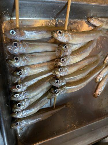 ワカサギ釣りはけっこう辛いそうですが、かなり美味!     日本料理 尾前その2