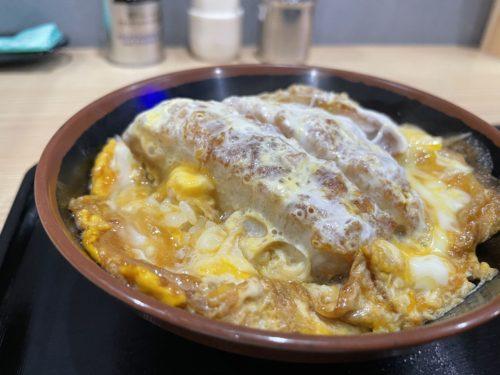おすすめのミニカツ丼は予想以上におすすめ!    江戸そば 孫吉