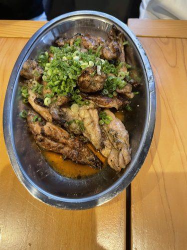 串にささっていないバラ焼きの鶏がめちゃうま!   京橋チャコール その1